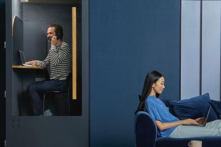 Reducir los ruidos en tu oficina