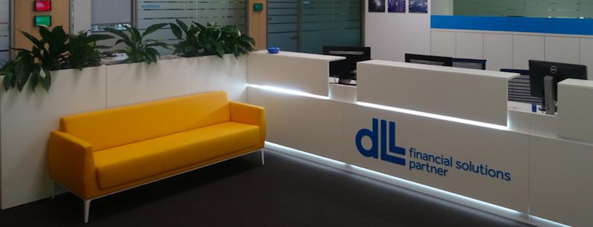 ampliación de oficinas para DLL Group