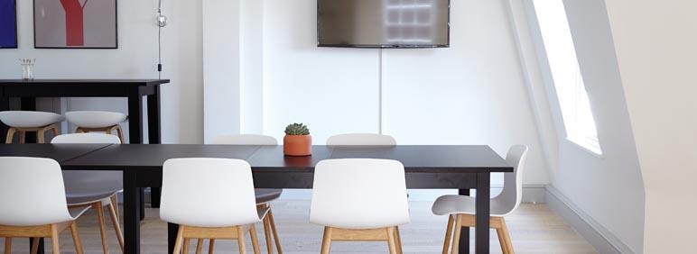 oficina con eficiencia